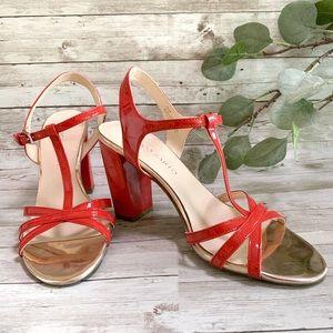 Franco Sarto Strappy Heels Sandals